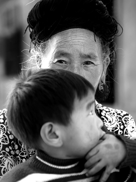 la grand-mère et le petit-fils[1]