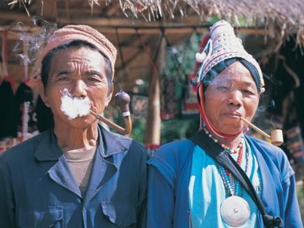Akha tribe chiang rai