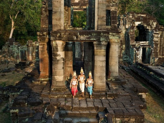 Apsara danse cambodge