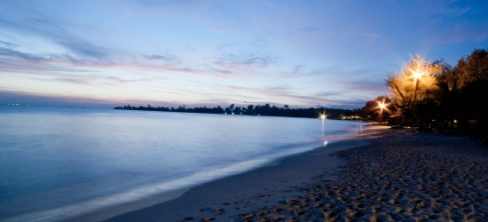 Evening at Sokha Beach