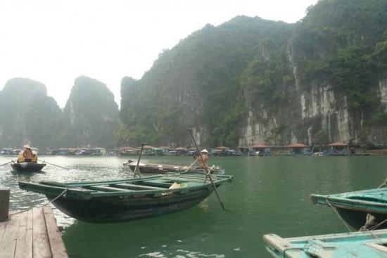 Halong village flottant