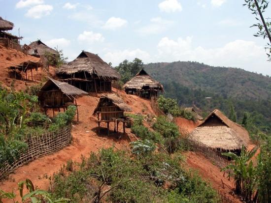 Kyaingtong Ann village