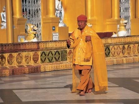monk yangon