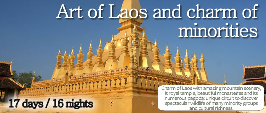 Art of Laos and charm of minorities