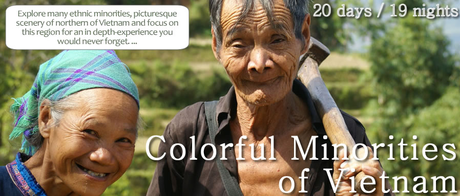 Colorful Minorities of Vietnam