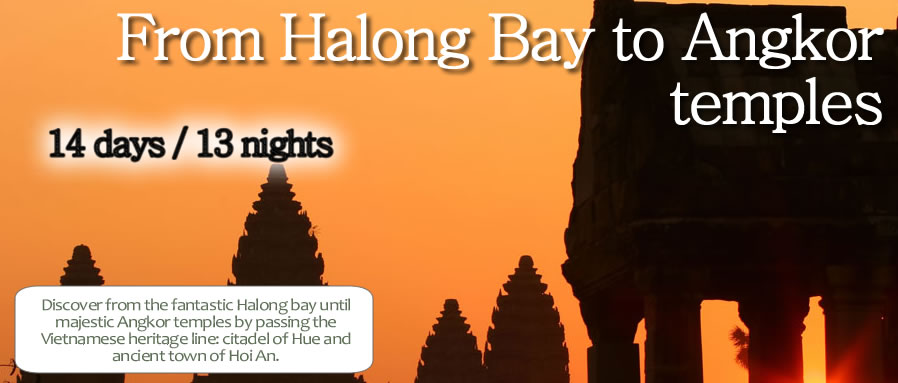 From Halong Bay to Angkor temples
