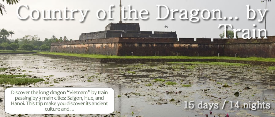 Country of the Dragon... by Train